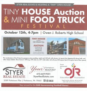 TINY HOUSE AUCTION & MINI FOOD TRUCK FESTIVAL