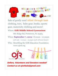Children's Clothing Consignment Sale