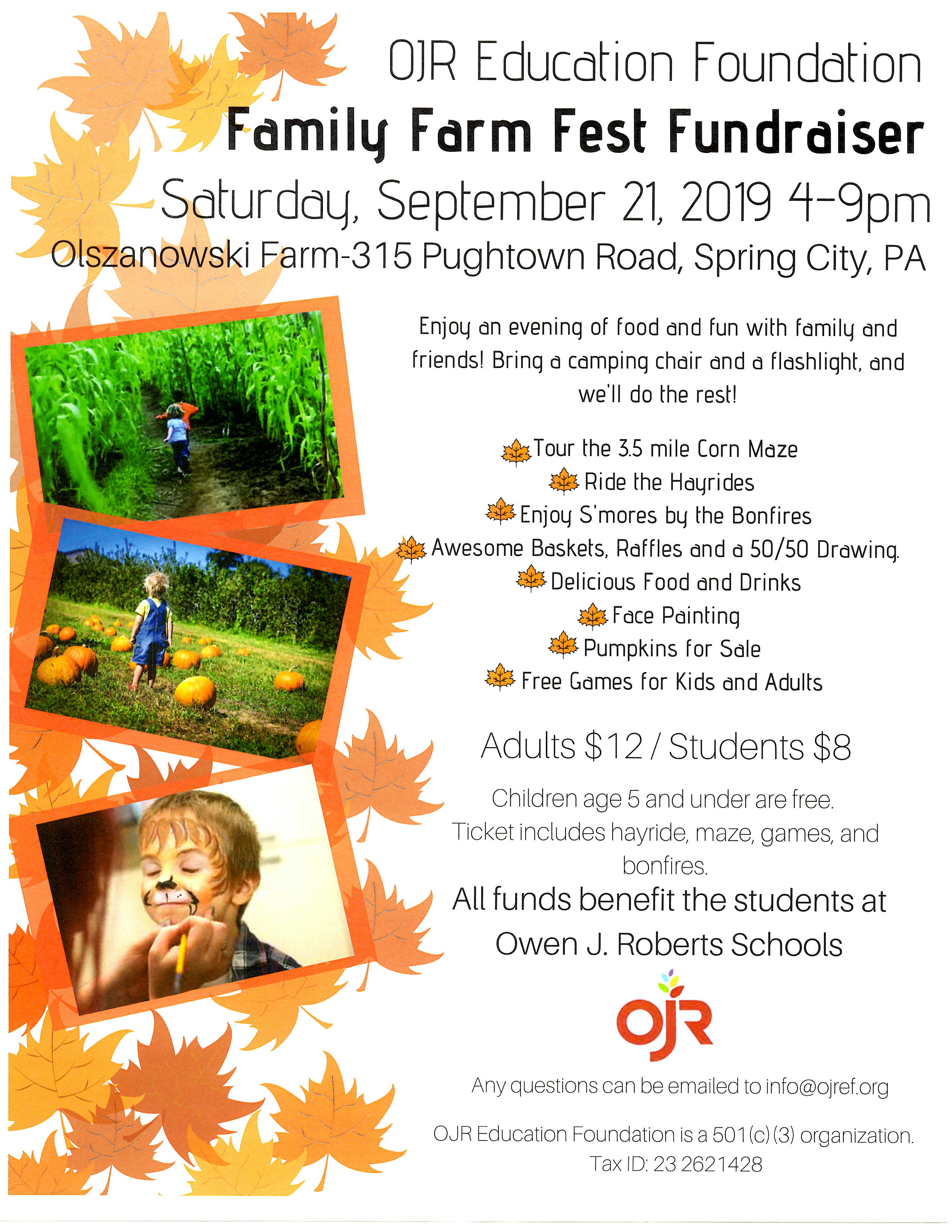 Family Farm Fest Fundraiser